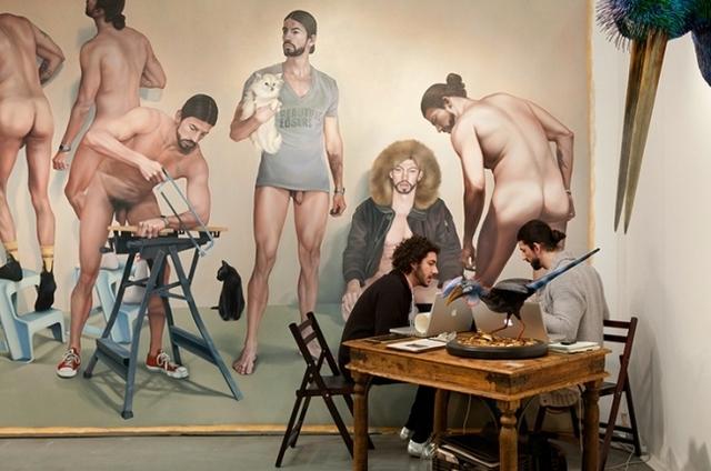, 'Spinello Gallery, Pulse New York,' 2011, Clark Gallery