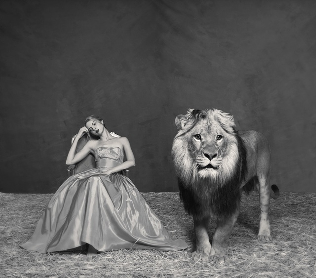 Tyler Shields, 'The Lady and The Lion', ca. 2019, Samuel Lynne Galleries