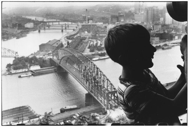 , 'Duquesne Incline. Pittsburgh, Pennsylvania. USA.  ,' 1950, Magnum Photos