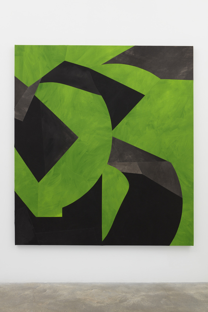 , 'Folded Greens,' 2018, Casey Kaplan
