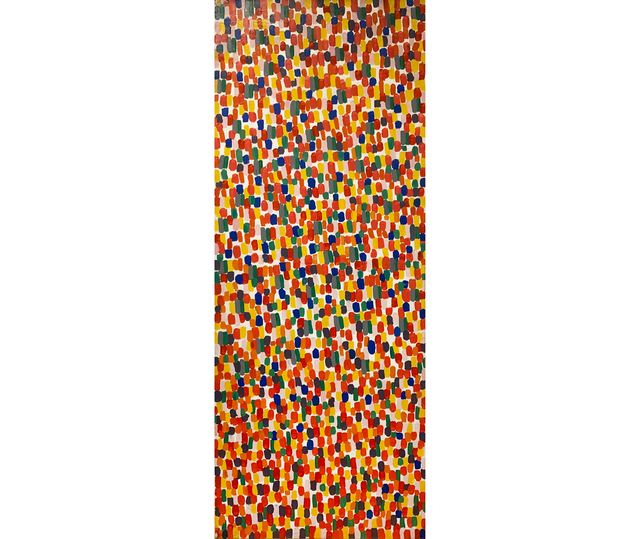 Marta Minujín, 'Laberinto Minujinda', 1985, Painting, Acrylic on canvas, Herlitzka + Faria