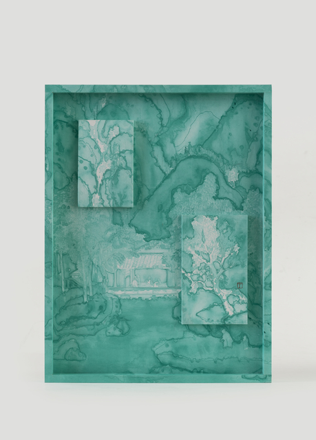 , 'Emerald Green Accumulated On Spring Mountains,' 2019, Karin Weber Gallery