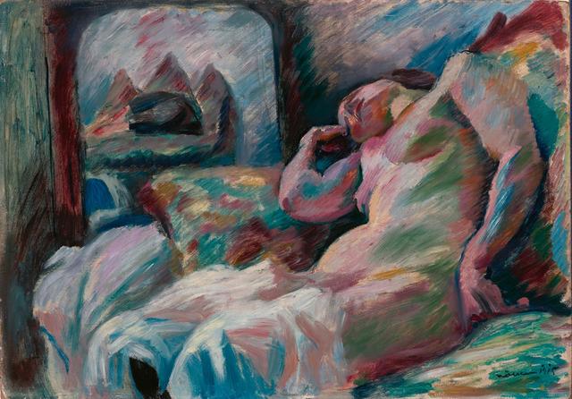 , 'Weiblicher Akt (Nude),' 1915, Galerie Herold