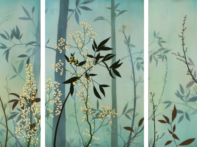 Ivy Jacobsen, 'Bamboo (Triptych)', 2017, Patricia Rovzar Gallery