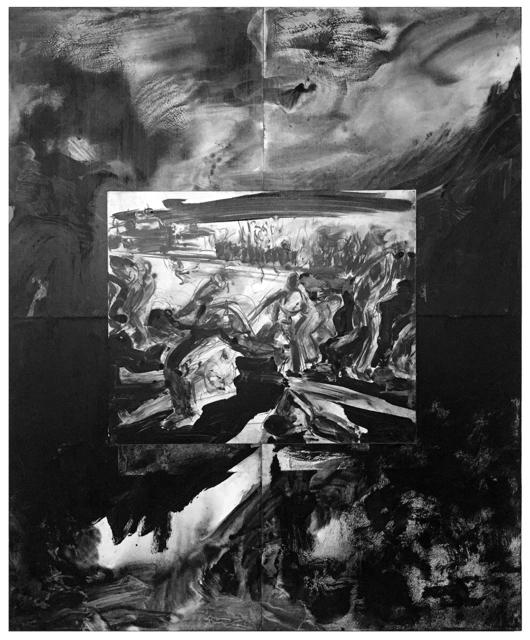, 'Running Men #16, Modes of Escape Series,' 1998, AS Artists Studios