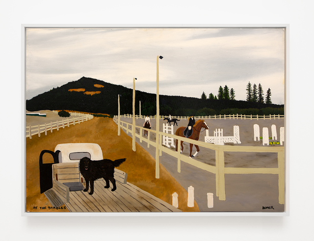 , 'At the Stables,' 2008, VARIOUS SMALL FIRES