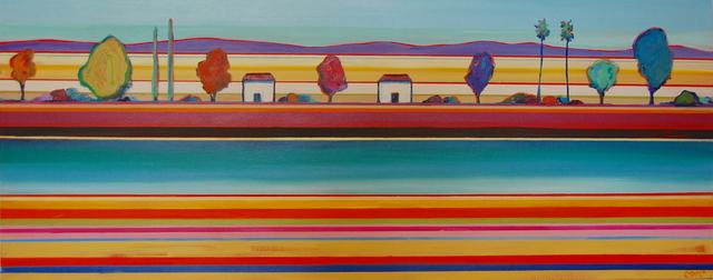 , 'Micah's River,' 2018, Tim Collom Gallery