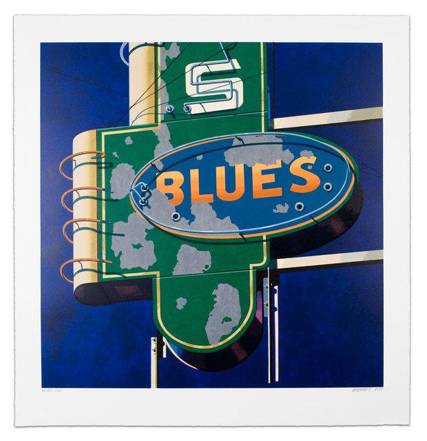 Robert Cottingham, 'Blues ', 2009, Taglialatella Galleries