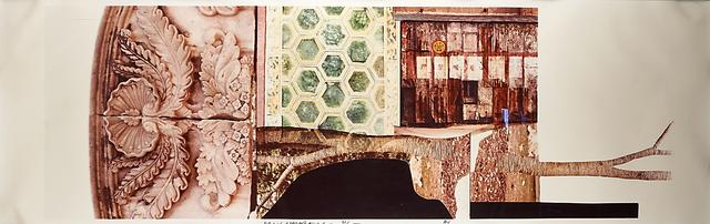 Robert Rauschenberg, 'Studies for Chinese Summerhall IV', 1984, Print, C-print (framed), Rago/Wright