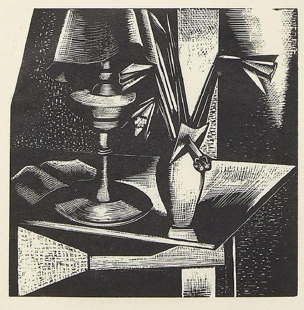 Paul Nash, 'Still Life No. 1', 1924, Print, Woodcut on wove, Roseberys