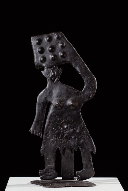 , 'Figure with Basket,' ca. 1970, ZQ Art Gallery