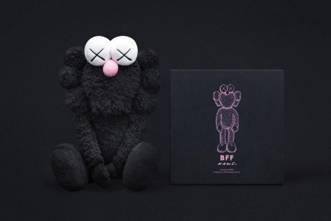 KAWS, 'BFF Plush Doll Black', 2016, Lougher Contemporary Gallery Auction