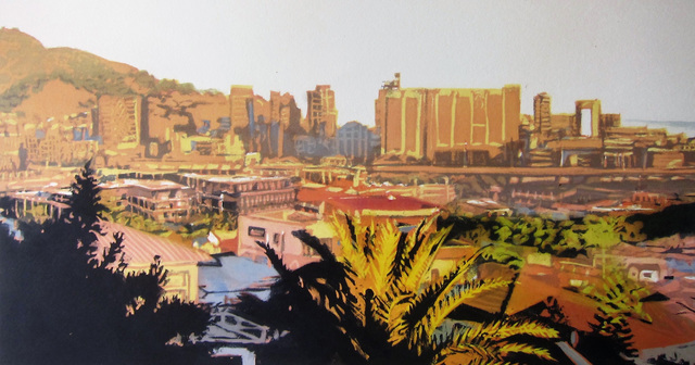 , 'City in Morning Light,' 2016, The South African Print Gallery