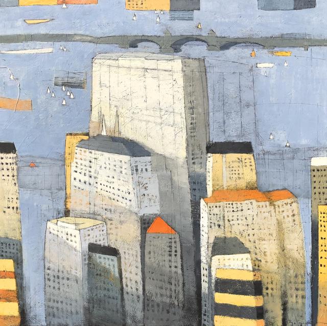 , 'View to Cambridge,' 2019, Arden Gallery Ltd.