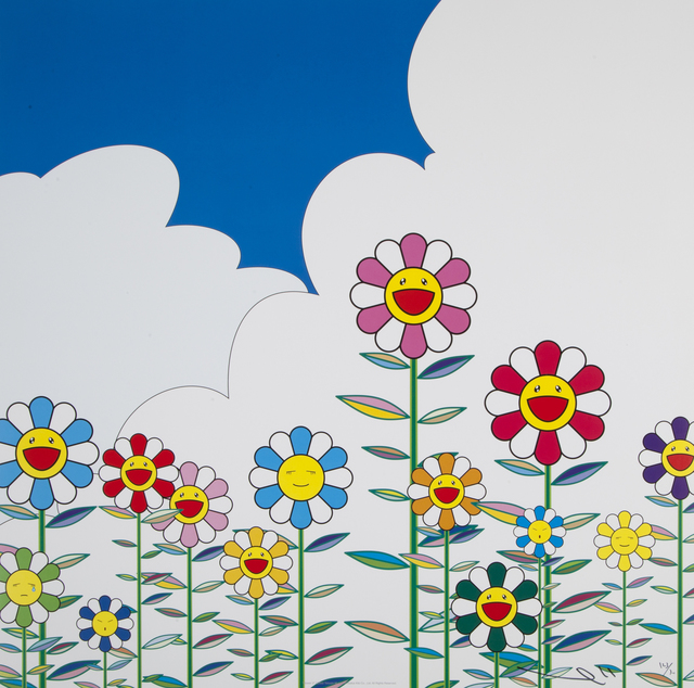 Takashi Murakami, 'Flower 2', 2002, Julien's Auctions