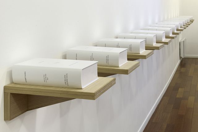 Robert Barry, 'One Billion Colored Dots', 2008, mfc - michèle didier