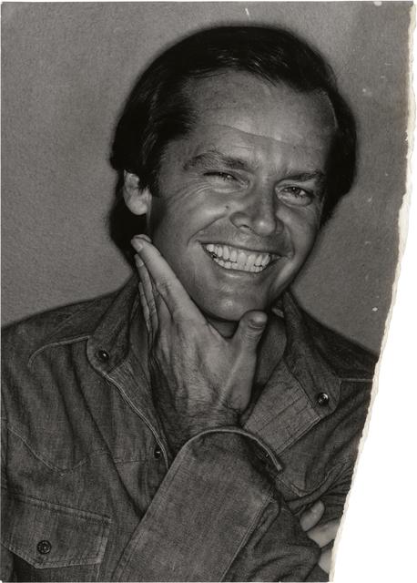 , 'Uncharted – Jack Nicholson,' 1976, Daniel Blau