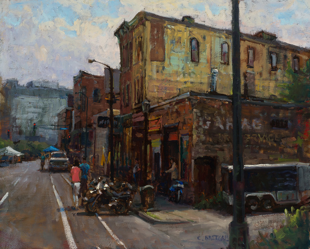 , 'Open Streets, Washington Ave,' 2016, Susan Calloway Fine Arts