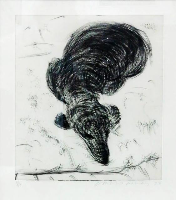 David Hockney, 'DOG WALL NUMBER 7', 1998, Hidden