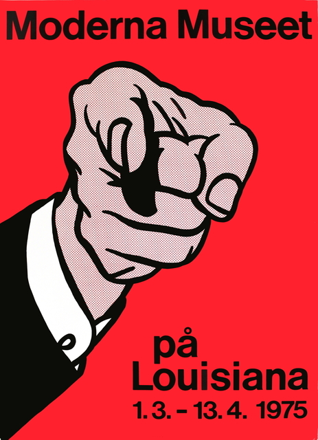 Roy Lichtenstein, 'Finger Pointing', 1975, Print, Serigraph, ArtWise