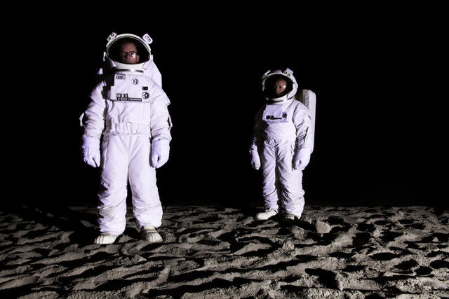 , 'Bored Astronauts on the Moon,' 2011, Carroll / Fletcher