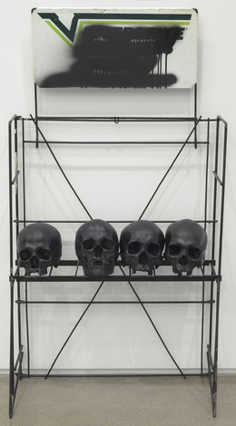 , 'Skull Rack to the West [black],' 2014, Feuer/Mesler