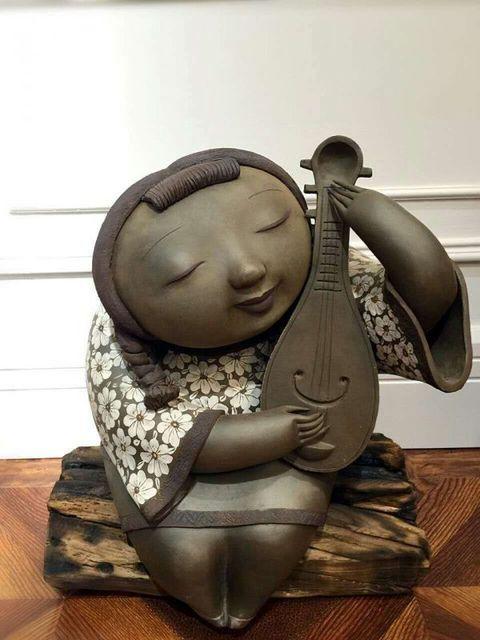 Yukui Zheng, 'Pipa Lady II 琵琶女', 2017, Ode to Art
