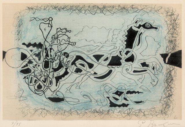 Georges Braque, 'Le char bleu', 1955, Heritage Auctions