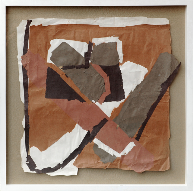 , 'Brown Field with White,' , Sylvester Fine Art