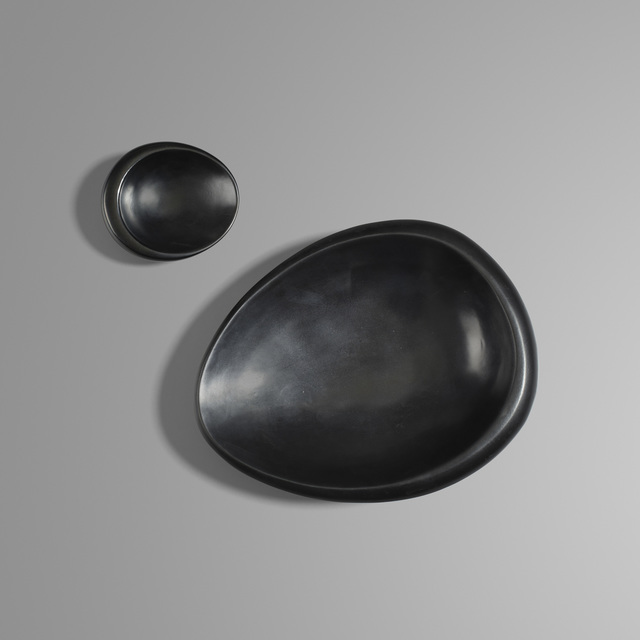 Georges Jouve, 'Bowls, Set of Two', c. 1950, Design/Decorative Art, Glazed ceramic, Rago/Wright