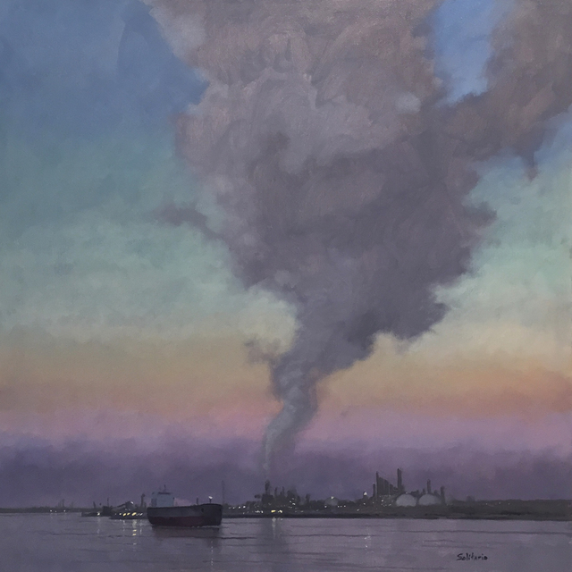 , 'Morning Light Over Refinery,' , LeMieux Galleries