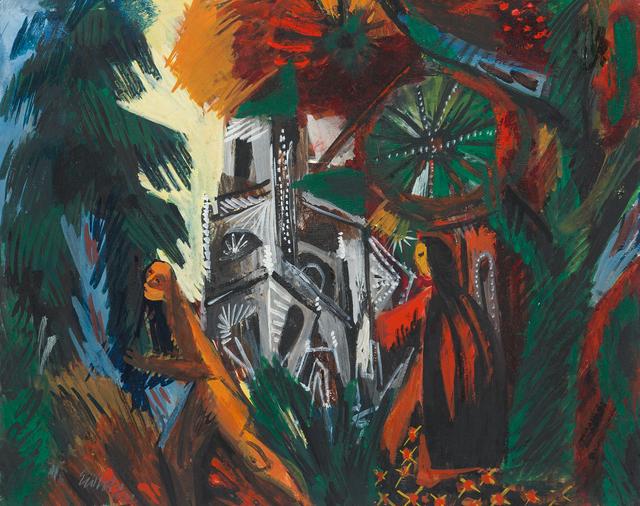 , 'Die Kathedrale,' 1942, Galerie Utermann