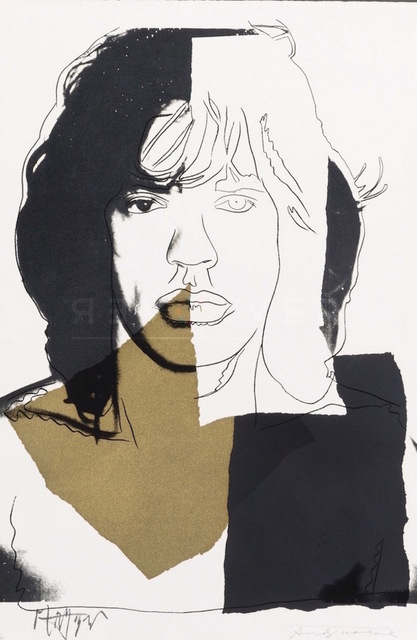 Andy Warhol, 'Mick Jagger (FS II.146) ', 1975, Revolver Gallery