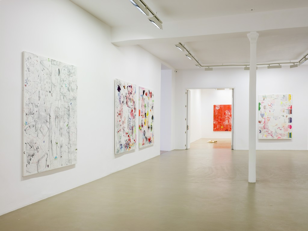 José María Sicilia, Phasma, exhibition view at Galerie Chantal Crousel, Paris (Jan. 27 - March 3, 2018). Photo: Florian Kleinefenn