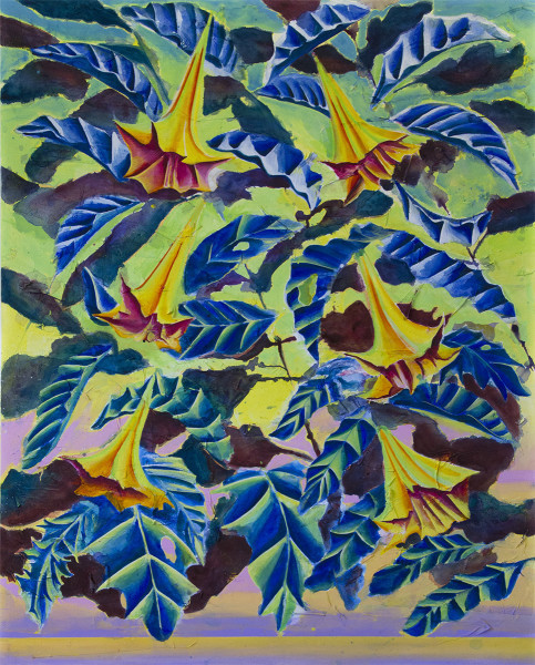 Nicholas William Johnson, 'The Tree Leaves Became Fixed in the Sky', 2018, PLUS-ONE Gallery