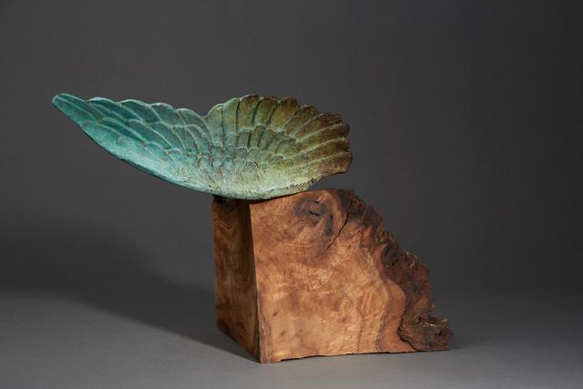 , ' Debra Baxter, Conflicted Bliss, 2018, bronze, patina, walnut,' 2018, form & concept