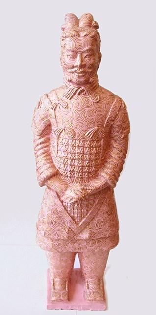 Fenghua Liu, 'Terracotta Warrior - Pink & Gold', ca. 2008, Tanya Baxter Contemporary