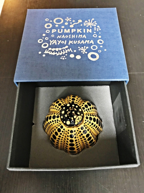 , 'Yellow Pumpkin (Artist Designed & Authorized Naoshima Edition) in artist designed gift box,' 2013, Alpha 137 Gallery