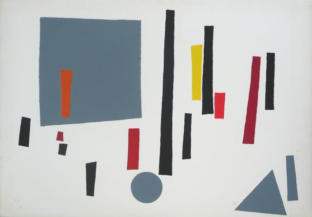 , 'Torres y esfera,' 1989, Galería La Caja Negra