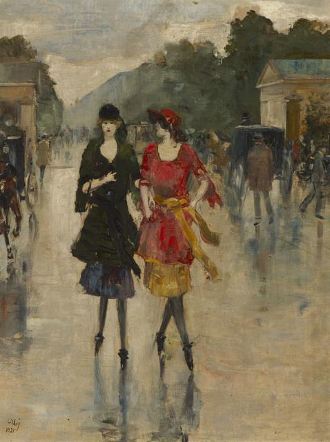 , 'Berlin Street Scene,' 1921, Ben Uri Gallery and Museum