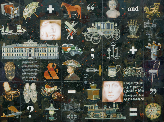 , 'Rebus,' 2012, Zolla/Lieberman Gallery