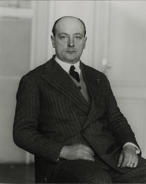 August Sander, 'Attorney, 1927', Galerie Julian Sander