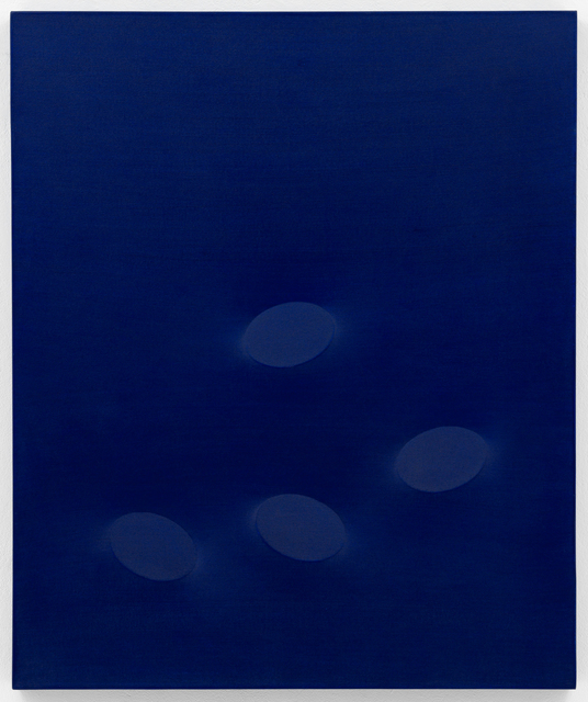 , 'Ovali blu,' 2007, SETAREH GALLERY