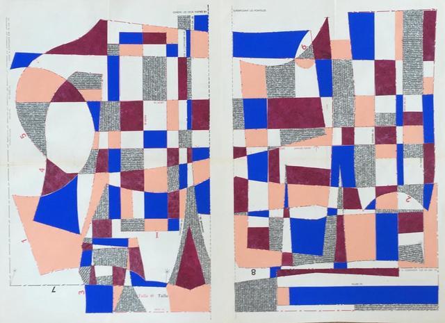 , 'Bauhaus Block No. 4,' 2019, Emmanuelle G Gallery