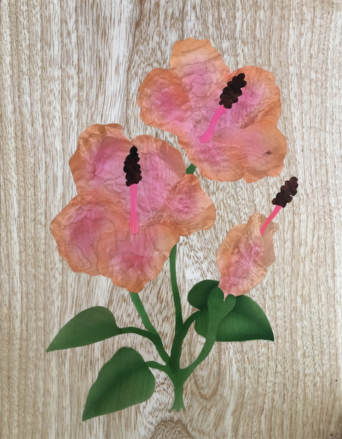 , 'Hibiscus,' 2018, Tiffany's Art Agency