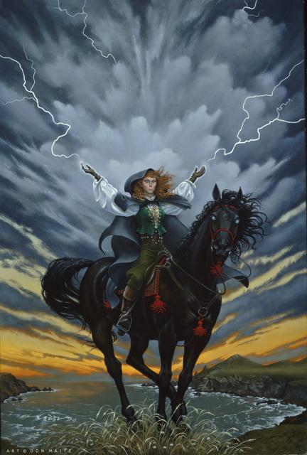 Don Maitz, 'Wind Witch', 1994, IX Gallery