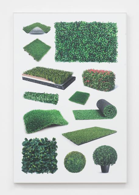 , 'Untitled (fake greenery II),' 2018, Magenta Plains