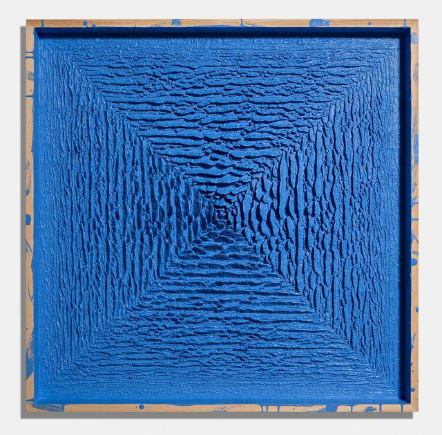 , 'Secret Passage (blue),' 2016, De Buck Gallery