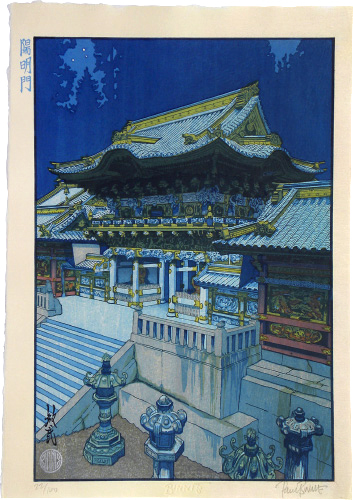 Paul Binnie, 'Famous Views of Japan: Night View of Yomeimon Gate', March 2011, Scholten Japanese Art