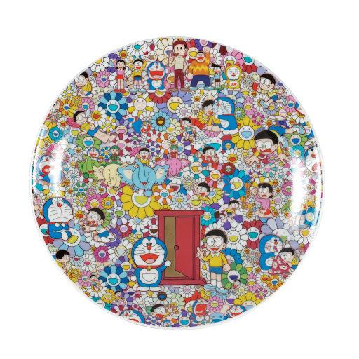 Takashi Murakami, 'Doraemon Ceramic Plate', 2017, Curator Style
